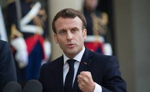 Le président de la République Emmanuel Macron, le 6 mai 2019 à Paris.