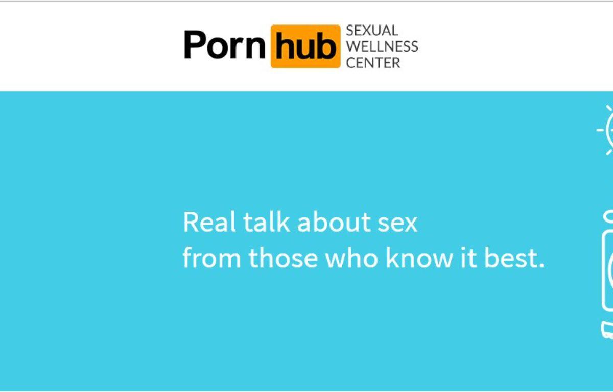 Le nouveau site de Pornhub propose une éducation à la sexualité. – Capture d'écran/Pornhub