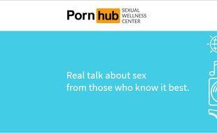 Le nouveau site de Pornhub propose une éducation à la sexualité.