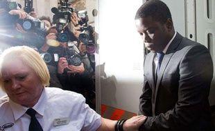 Le trader Kweku Adoboli, soupçonné d'une fraude ayant couté 1,5 milliard d'euros à UBS, à Londres le 22 septembre 2011.