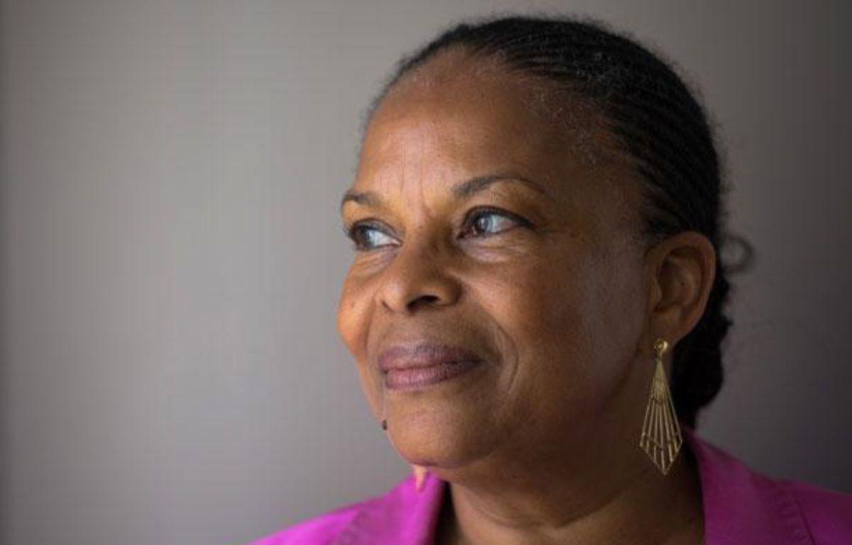 Christiane Taubira, le 11 juillet dans son bureau à Paris. – M. BUREAU / AFP