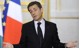 """Près d'un Français sur deux souhaiterait que Nicolas Sarkozy se déclare """"le plus tôt possible"""" candidat à la présidentielle, contre 37% qui affichent leur préférence pour la période allant de fin février à mi-mars, selon un sondage Ifop pour le JDD."""
