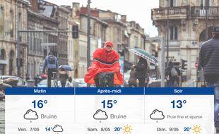 Météo Bordeaux: Prévisions du jeudi 6 mai 2021