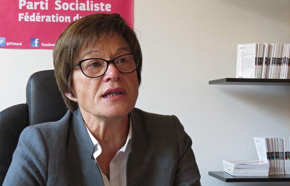 Martine Filleul, 1ère secrétaire de la fédération PS du Nord. – O.Aballain/20 Minutes