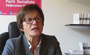 Martine Filleul, 1ère secrétaire de la fédération PS du Nord.