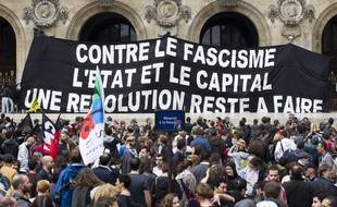 Une manifestation contre le fascisme et l'homophobie, en 2013 à Paris (photo d'illustration).