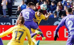 Suarez et Griezmann lors de la victoire du Barça à Leganes, le 23 novembre 2019.