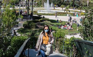 Au jardin des Plantes, à Toulouse, le 3 avril 2021.