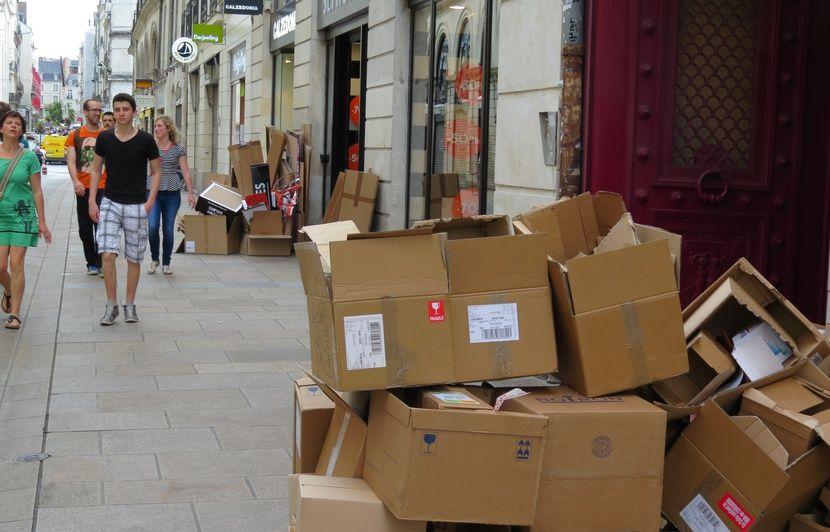 Nantes : La ville a (enfin) trouvé le moyen d'éradiquer les cartons qui traînent