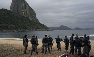 Des policiers près de Rio de Janeiro (illustration)