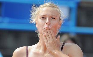 Maria Sharapova lors de sa venue aux Internationaux de Strasbourg en 2010. (Archives)