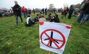NOTRE DAME DES LANDES, le  17/11/2012 Manifestation contre le projet d aeroport Notre dame des landes