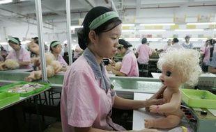 Une usine de jouets à Panyu, dans le sud de la Chine