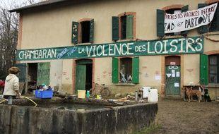Installés dans la forêt de Chambaran (Isère), des zadistes protestent depuis de longues années contre le projet d'ouverture d'un Center Parcs à Roybon.