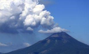 Illustration d'un volcan au Nicaragua.
