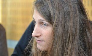 Camille Halut, observatrice de la Ligue des droits de l'homme, était jugée ce mardi matin à Montpellier