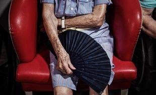Une personne âgée dans un Ehpad (illustration).