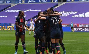 D1 féminine: le PSG, champion de France, met fin à l'hégémonie lyonnaise (Archives)