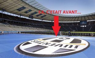 Le logo de la Juventus, avant...