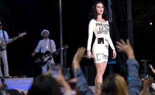 Katy Perry à Las Vegas, le 24 octobre 2012.