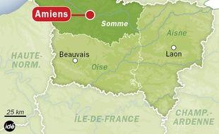 La région Picardie.