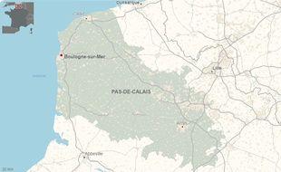 La ville de Boulogne-sur-Mer, dans le Pas-de-Calais.