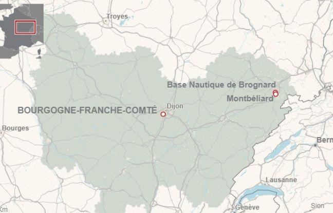 Base nautique de Brognard (Doubs)