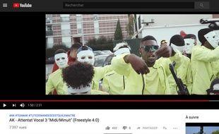 Le rappeur AK a tourné son clip à Nice.