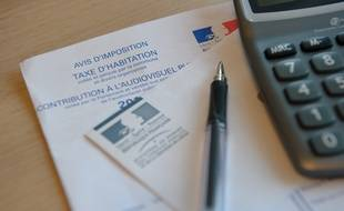 Illustration sur la taxe d'habitation.