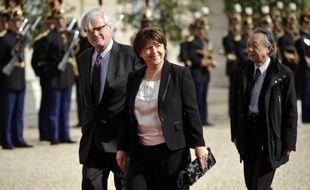 """Martine Aubry, qui a annoncé mercredi qu'elle ne serait pas au gouvernement, a affirmé à l'AFP avoir """"convenu en bonne entente"""" avec François Hollande et Jean-Marc Ayrault que cela """"n'avait pas de sens qu'(elle) soit au gouvernement""""."""