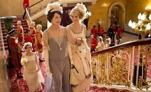 Image de la série britannique «Downton Abbey».