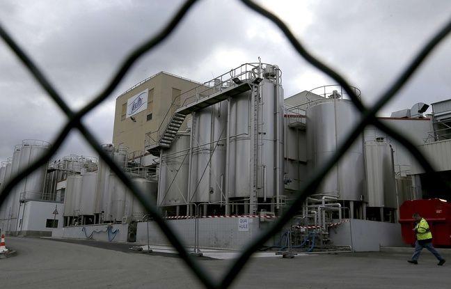 L'usine Lactalis de Craon (Mayenne).
