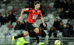 Yoann Gourcuff lors de Toulouse-Rennes le 27 février 2016.