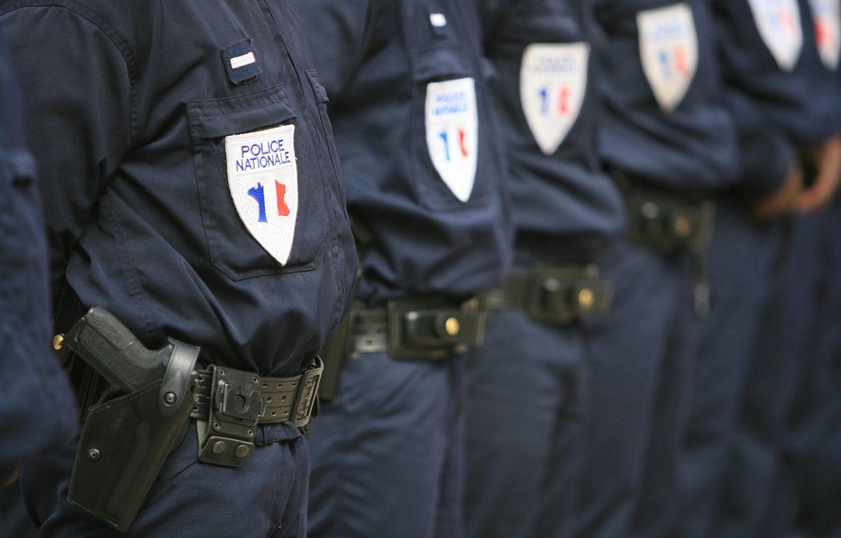 Illustration de policiers nationaux, à Toulouse, lors d'une cérémonie. – A. GELEBART / 20 MINUTES