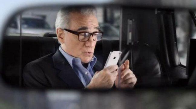 Martin Scorsese dans un spot publicitaire Apple. – CAPTURE D'ECRAN / 20 MINUTES