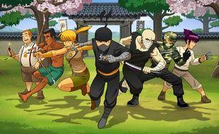 Reign of the ninja, le nouveau jeu de Dragonslash.