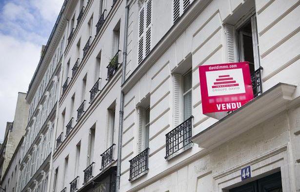 Illustration, immobilier à Paris. – V. WARTNER / 20 MINUTES