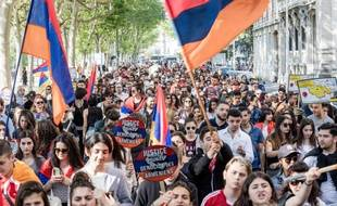La communauté arménienne française est très active sur la question du génocide.