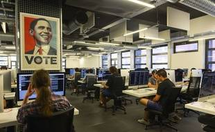 L'école 42, qui dispense une formation en informatique, créée par Xavier Niel, le 1er octobre 2016.