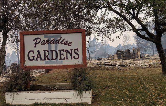 Paradise Gardens, un lotissement pour retraités, a également été détruit.