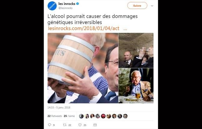 Les Inrocks se paient Manuel Valls — Dangers de l'alcoolisme