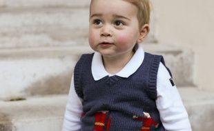 Baby George en Trotters en décembre 2014