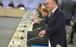Bernard Cazeneuve ministre de l'Intérieur au rendez-vous des ministres européens ce jeudi 29 janvier à Riga.