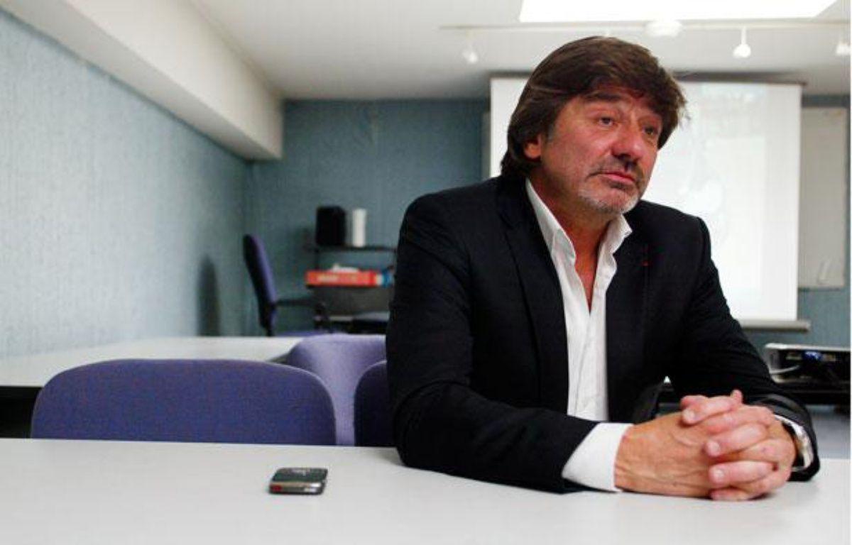 Michel Neyret, directeur adjoint à la direction interégionale de la PJ. Lyon, le 17 mai 2011. – CYRIL VILLEMAIN / 20 MINUTES