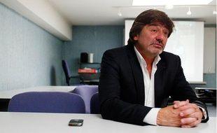 Michel Neyret, directeur adjoint à la direction interégionale de la PJ. Lyon, le 17 mai 2011.