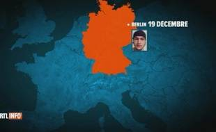 Les enquêteurs tentent de retracer avec exactitude le parcours emprunté par Anis Amri de Berlin à Milan