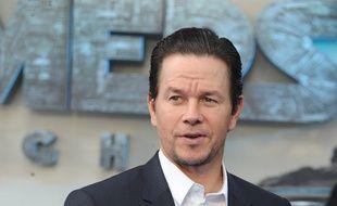 L'acteur Mark Wahlberg à l'avant-première de Transformers: The Last Knight à Londres
