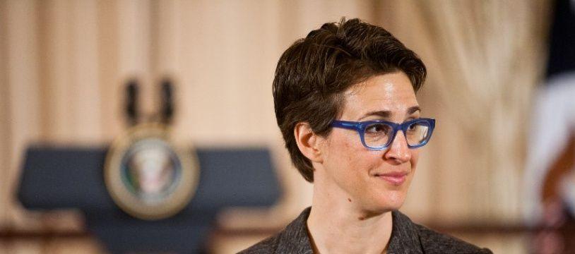 La journaliste américaine Rachel Maddow.