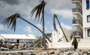La partie néerlandaise de Saint-Martin, dévastée après le passage de l'ouragan Irma dans la nuit du 5 au 6 septembre 2017.