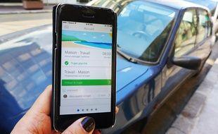 L'application azuréenne Hupp permet de lutter contre les embouteillages.